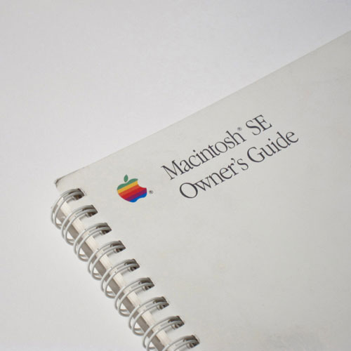 Mac SE Users Manual