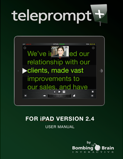 teleprompt user manual